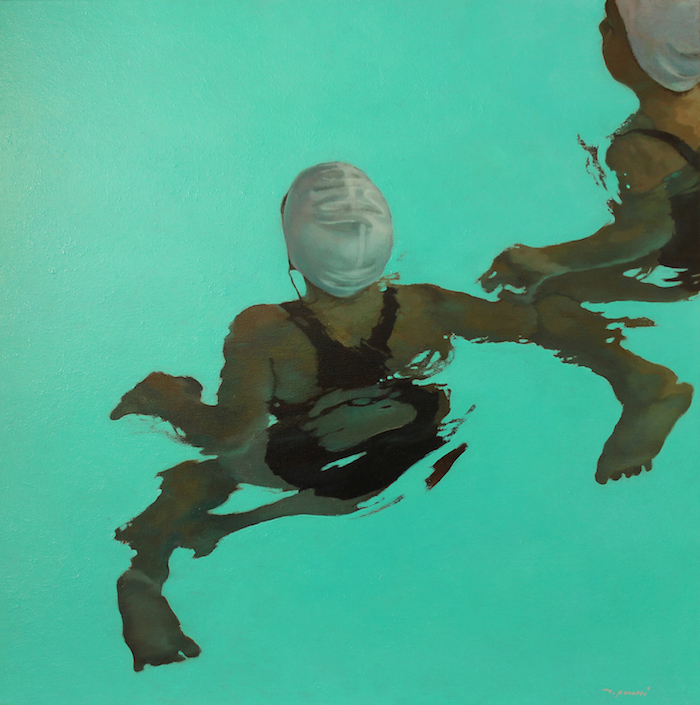 Dansa · 80X80cm · oil on canvas